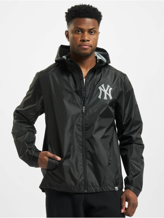 47 Brand Übergangsjacke MLB Yankees Forward Rain Shell schwarz