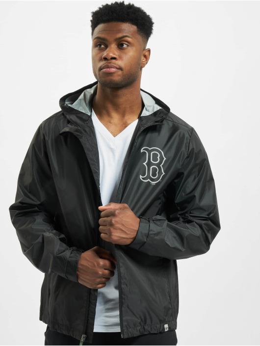 47 Brand Übergangsjacke MLB Red Sox Forward Rain Shell schwarz