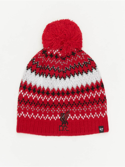 47 Brand Wintermütze EPL Liverpool FC Jovie rot
