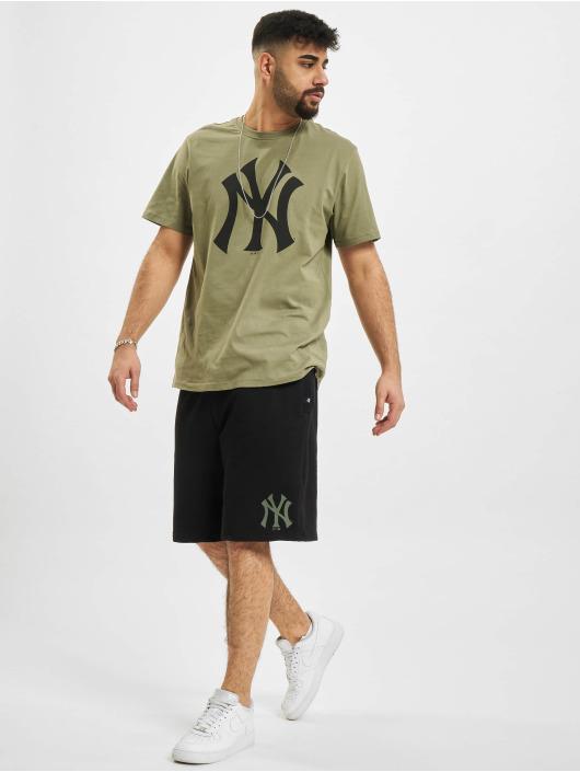 '47 Shorts MLB New York Yankees Overspray Helix schwarz
