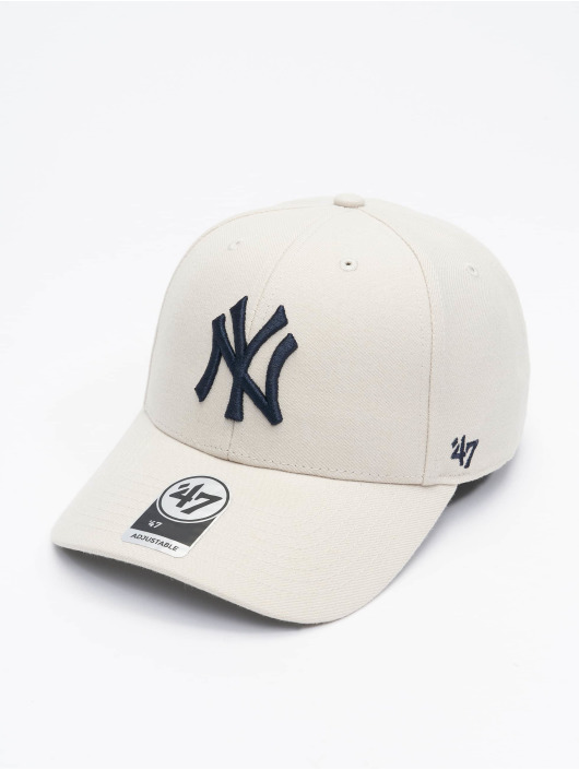 '47 Snapback Cap MLB New York Yankees beige