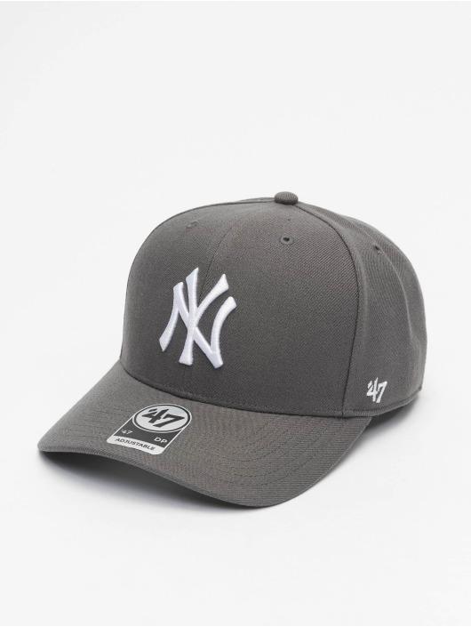 '47 Snapback Cap MLB New York Yankees Cold Zone grau