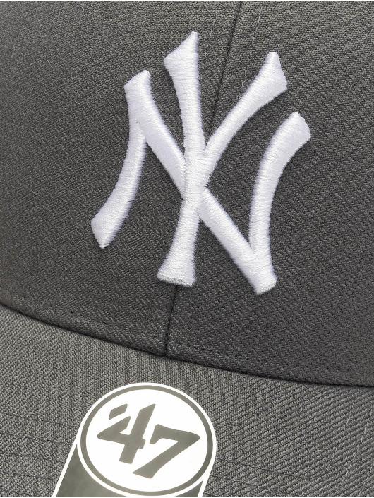 '47 Snapback Cap MLB New York Yankees grau