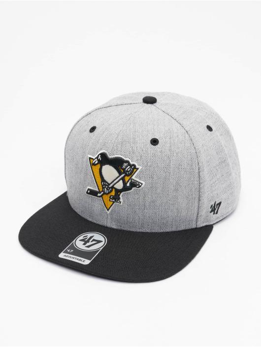 '47 Snapback Cap NHL Pittsburgh Penguins Storm Cloud TT DP grau
