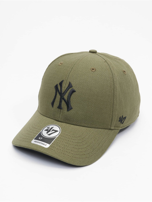 '47 Snapback Cap MLB New York Yankees Grid Lock grün