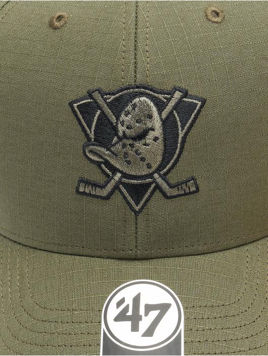 '47 Snapback Cap NHL Anaheim Ducks Grid Lock grün