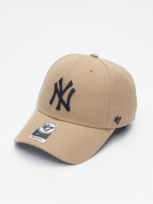 '47 Snapback Cap MLB New York Yankees khaki