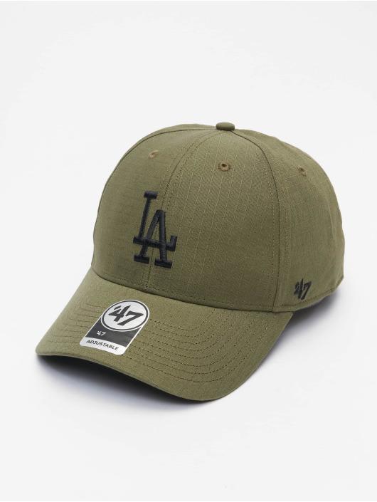 '47 Snapback Cap MLB Los Angeles Dodgers Grid Lock '47 olive