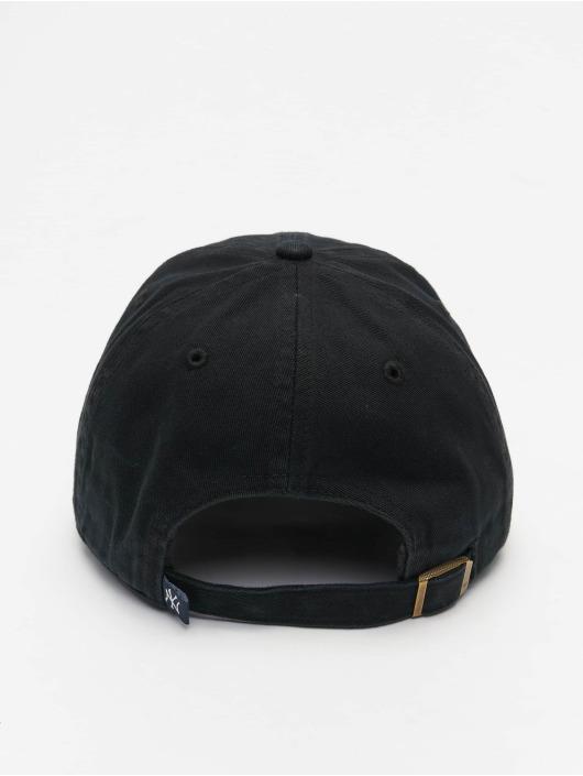 '47 Snapback Cap MLB New York Yankees Clean Up schwarz