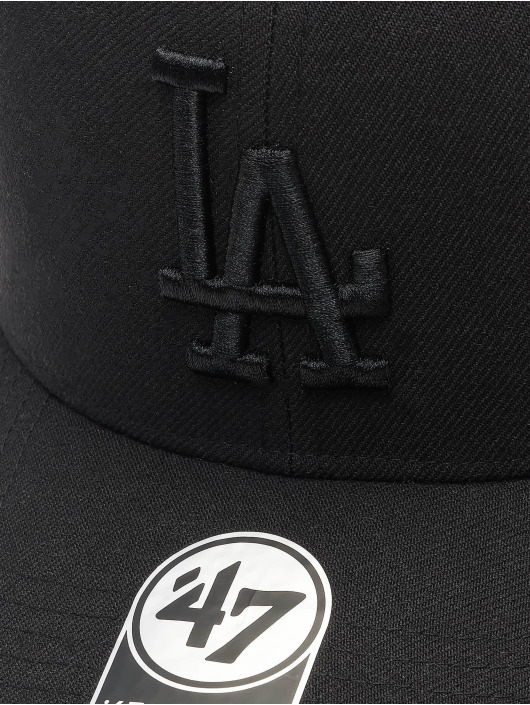 '47 Snapback Cap MLB Los Angeles Dodgers Cold Zone schwarz