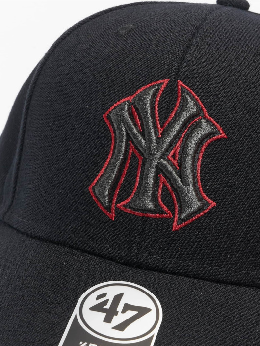 '47 Snapback Cap MLB New York Yankees schwarz