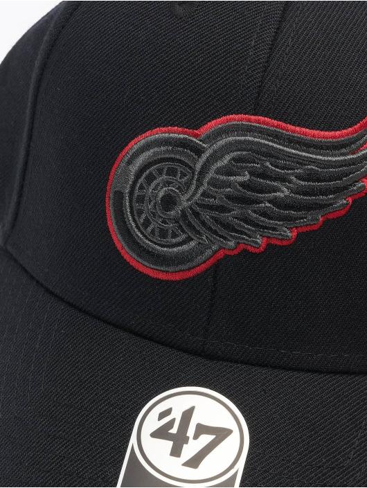'47 Snapback Cap NHL Detroit Red Wings schwarz