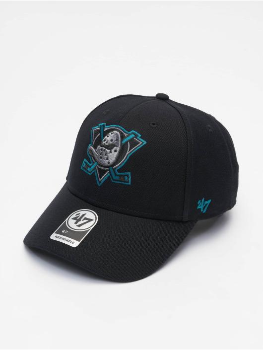 '47 Snapback Cap NHL Anaheim Ducks schwarz