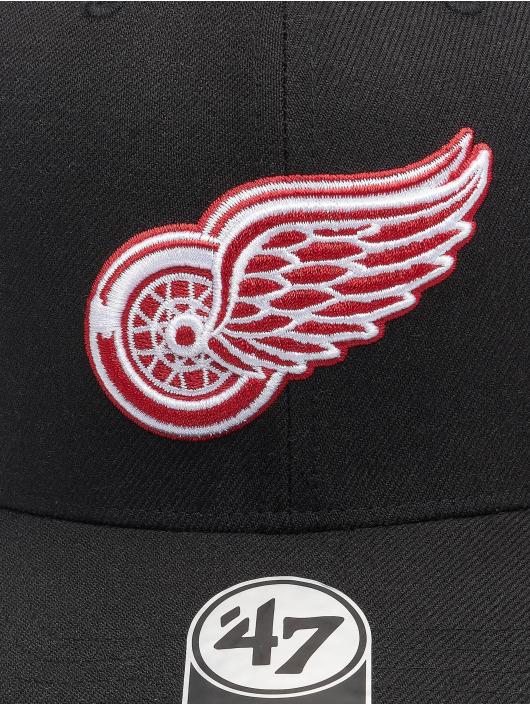 '47 Snapback Cap NHL Detroit Red Wings Cold Zone DP schwarz