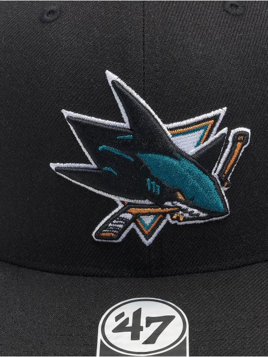'47 Snapback Cap NHL San Jose Sharks Cold Zone DP schwarz