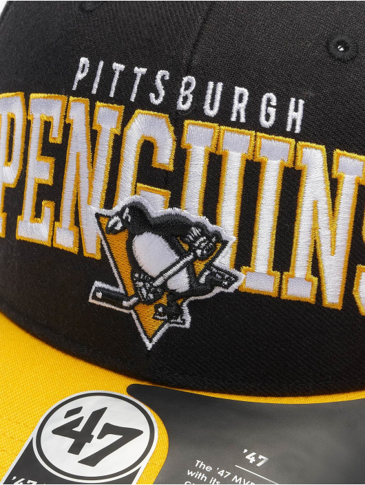 '47 Snapback Cap NHL Pittsburgh Penguins Mccaw '47 schwarz