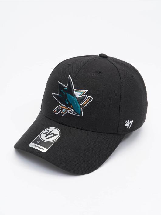 '47 Snapback Cap NHL San Jose Sharks schwarz