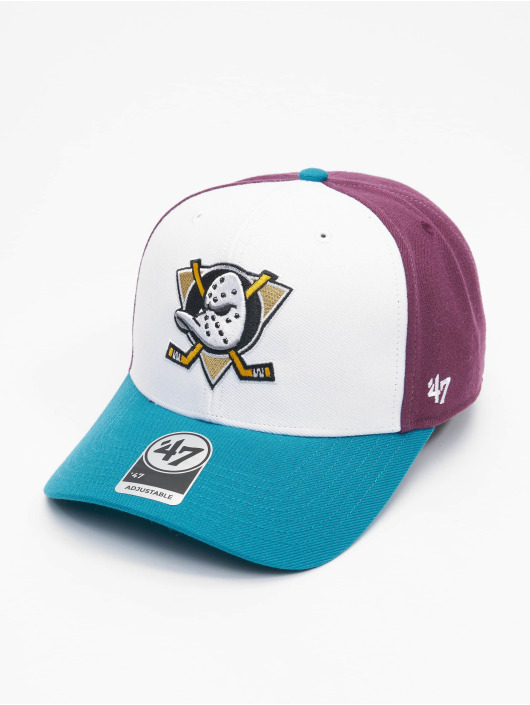 '47 Snapback Cap NHL Anaheim Ducks Replica Cold Zone DP violet