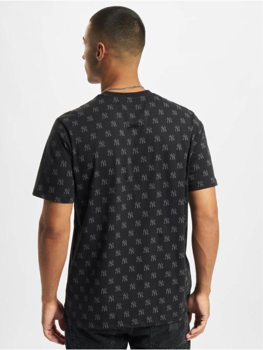'47 T-Shirt MLB New York Yankees Repeat Logo Echo schwarz