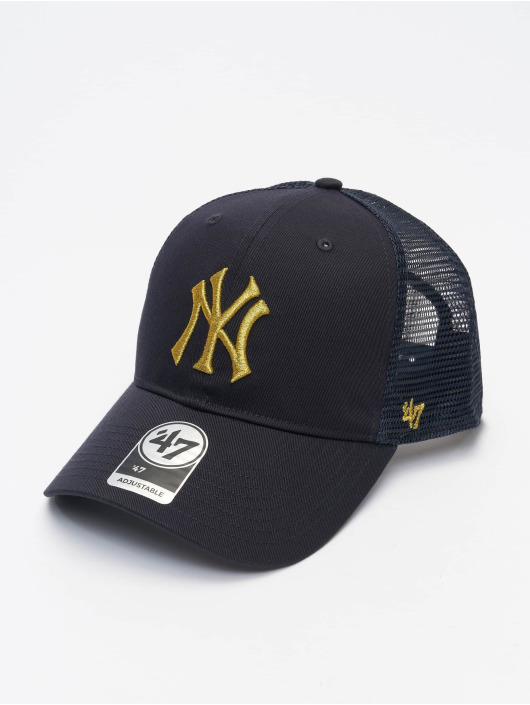 '47 Trucker Cap MLB New York Yankees Branson Metallic '47 blau