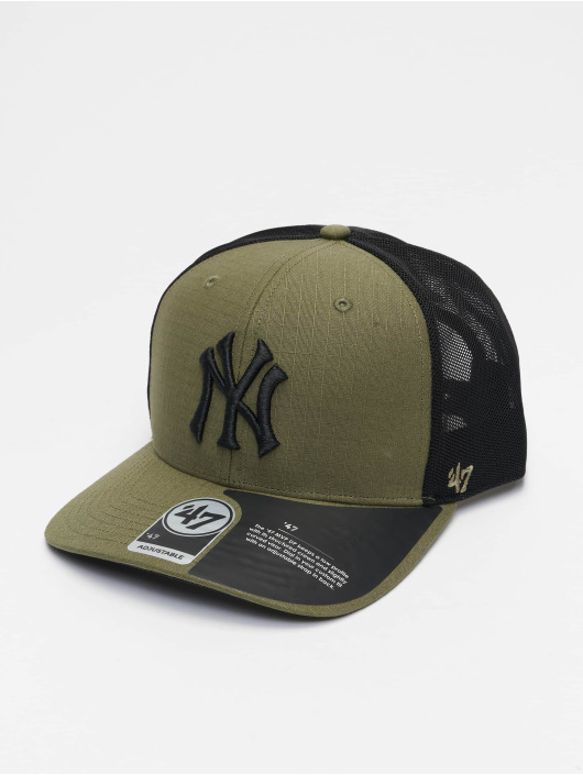 '47 Trucker Cap MLB New York Yankees Grid Lock Mesh grün