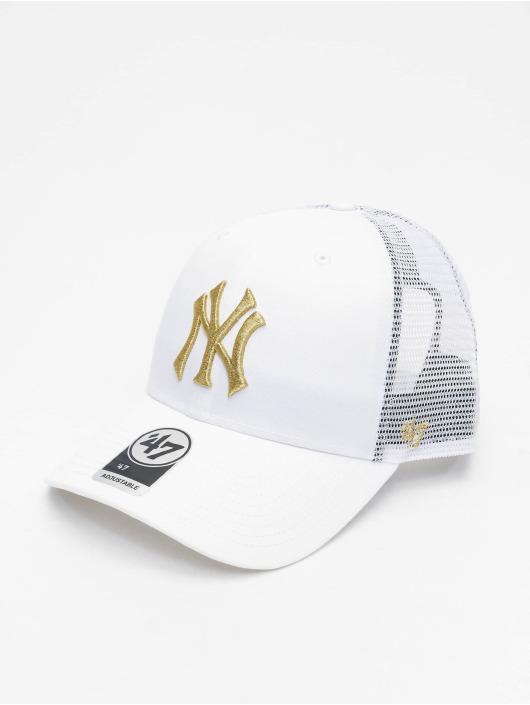 '47 Trucker Cap MLB New York Yankees Branson Metallic weiß