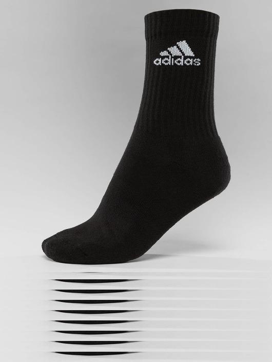adidas Performance Chaussettes Performance 3-Stripes Performance Crew noir
