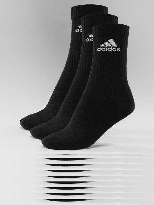 adidas Performance Sokken Performance 3-Stripes Performance Crew zwart