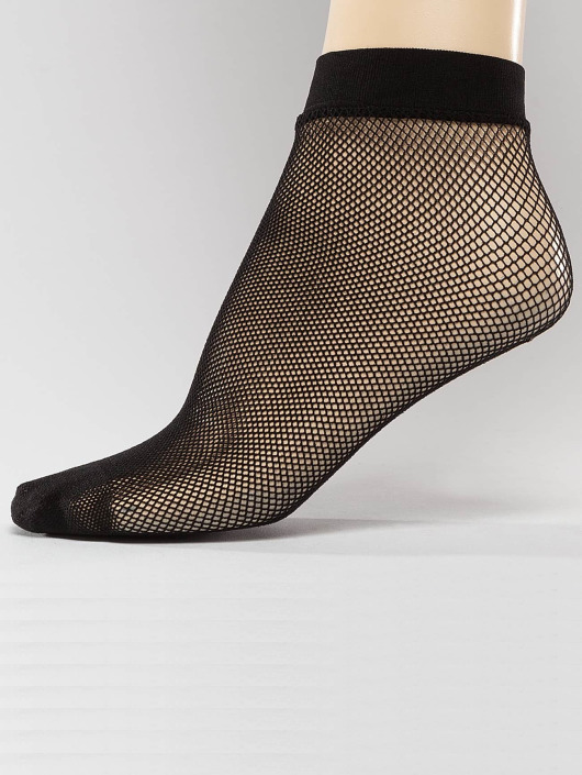 Hailys Socks Fishnet black