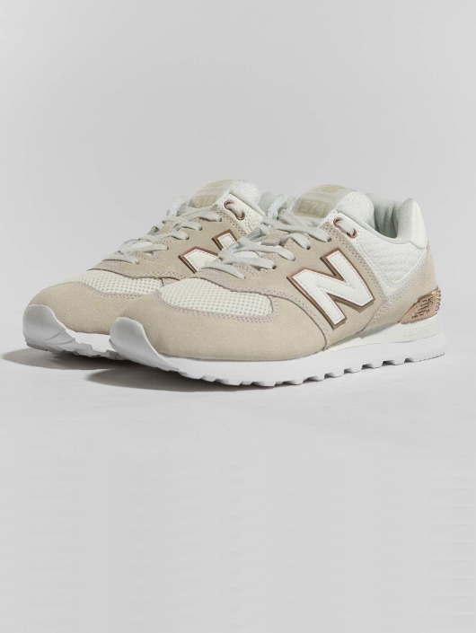 New Balance sneaker WL574FSA beige