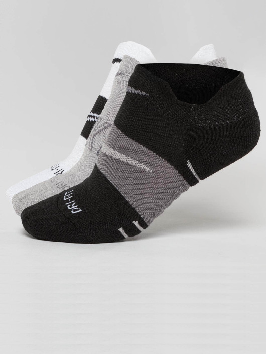 Nike Performance Sokker Dry Cushion Low Training 3 Pack svart