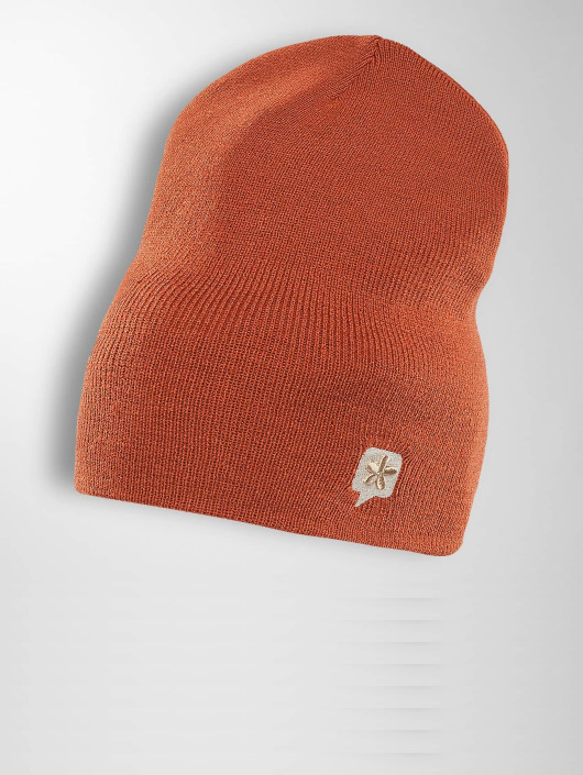 TrueSpin Beanie TS Wood Logo oranje