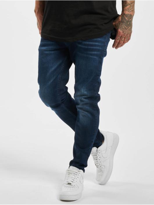Aarhon Облегающие джинсы Mick синий