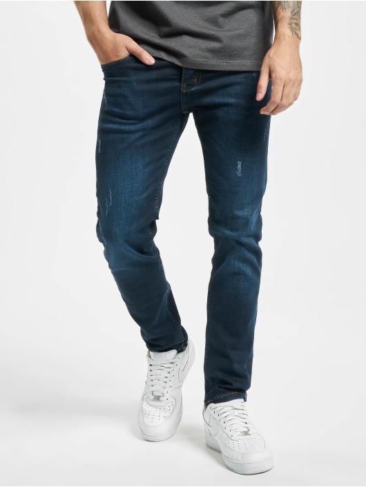 Aarhon Облегающие джинсы Park синий