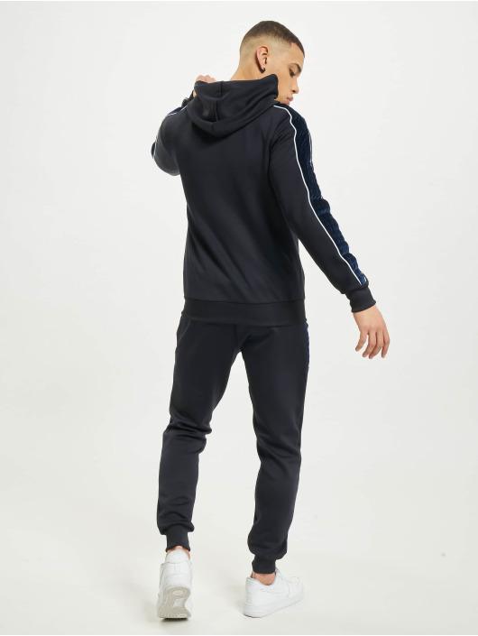 Aarhon Anzug Fleece Tape blau