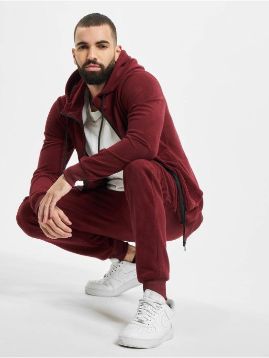 Aarhon Anzug Fleece rot