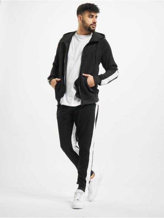 Aarhon Anzug Fleece schwarz