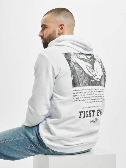 Aarhon Bluzy z kapturem Fight Club bialy