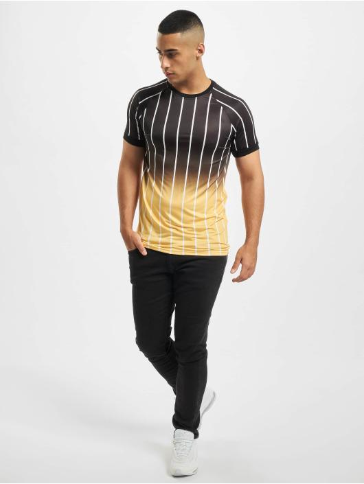 Aarhon Camiseta Gradient amarillo