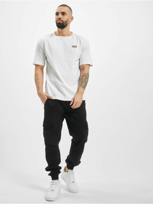 Aarhon Camiseta Fxck blanco