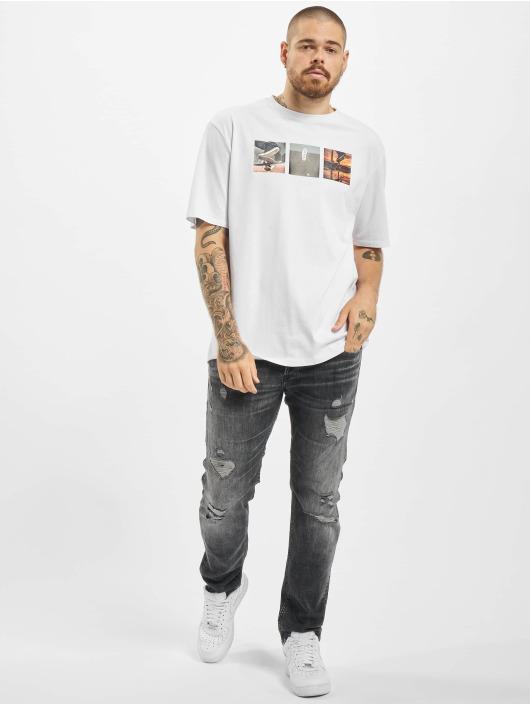 Aarhon Camiseta F Off blanco