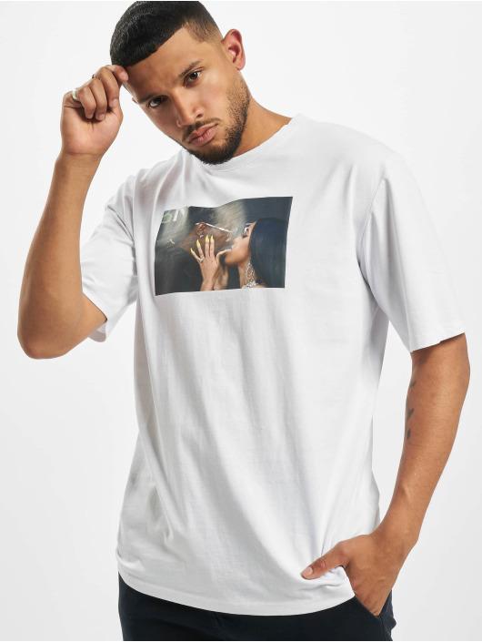 Aarhon Camiseta Card Off blanco