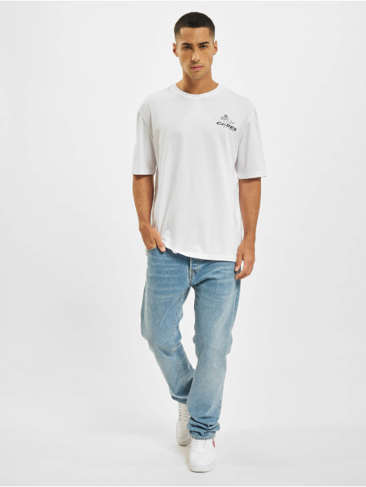 Aarhon Camiseta Who Cares blanco