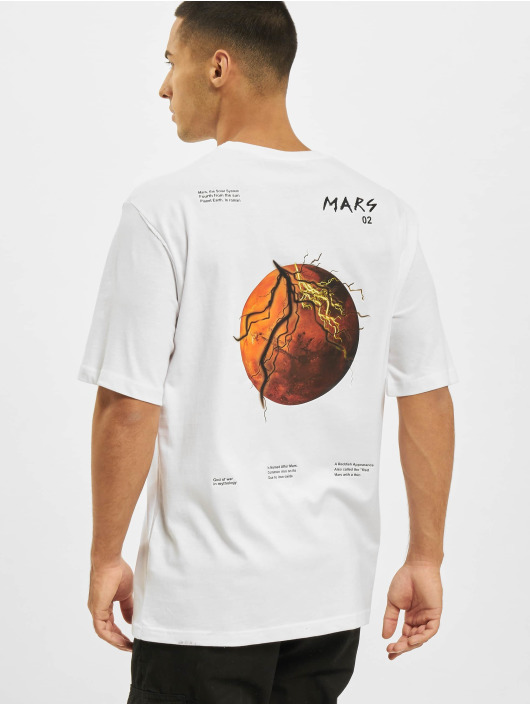 Aarhon Camiseta Mars blanco