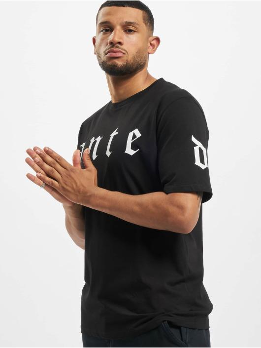 Aarhon Camiseta Ante negro