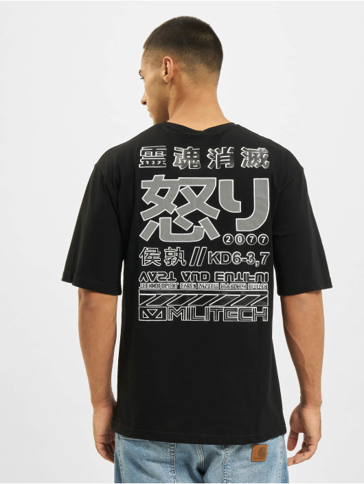 Aarhon Camiseta Reflective negro