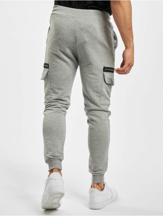 Aarhon Cargo pants Zipper šedá