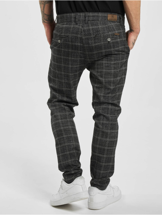 Aarhon Chino pants Checked black