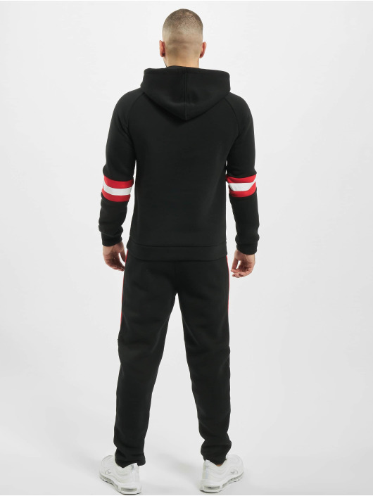 Aarhon Collegepuvut Stripes musta