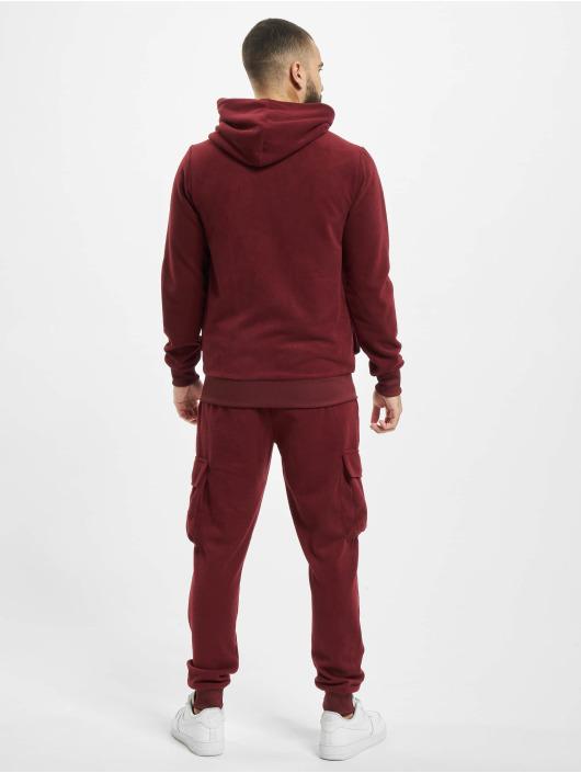 Aarhon Dresy Fleece czerwony